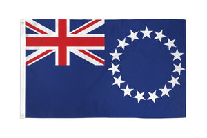 Cook Islands 3x5ft Poly Flag