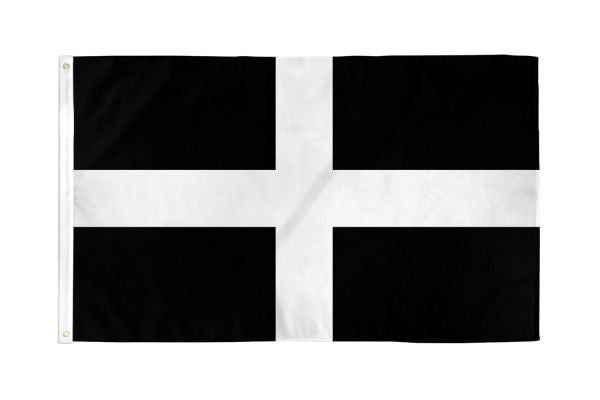 Cornwall 3x5ft Poly Flag