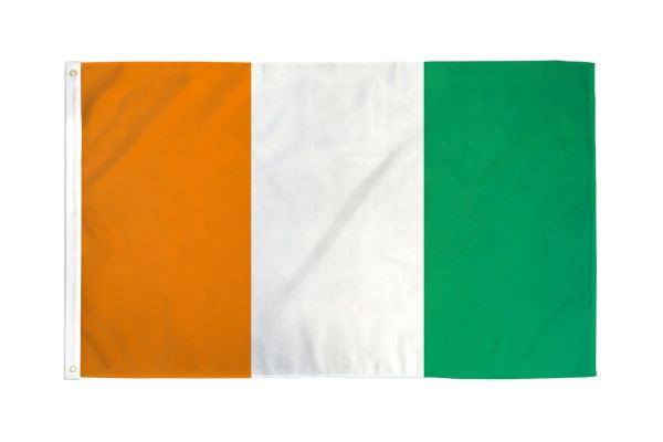 Cote D'Ivoire (Ivory Coast) 3x5ft Poly Flag