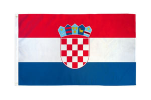 Croatia 3x5ft Poly Flag