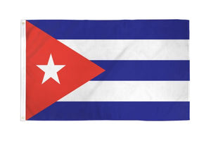 Cuba Waterproof 3x5ft Poly Flag