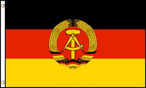 East Germany 3x5ft Poly Flag