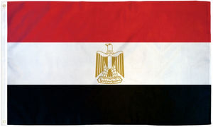 Egypt 3x5ft Poly Flag
