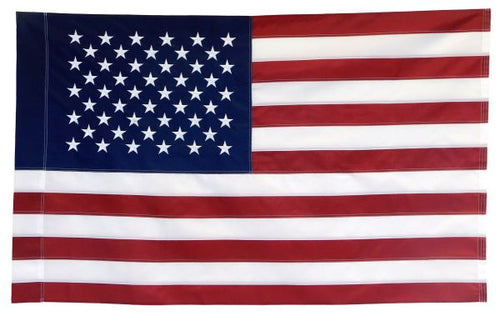 USA Embroidered Flag (Sleeved) 3x5ft