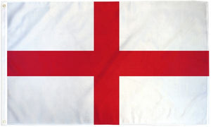 England 3x5ft Poly Flag