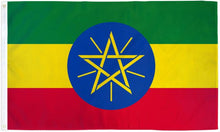 Load image into Gallery viewer, Ethiopia (Star) 3x5ft Poly Flag