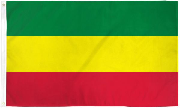 Ethiopia (Plain) 3x5ft Poly Flag