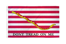 Load image into Gallery viewer, First Navy Jack Flag 3x5ft Poly Flag