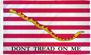 First Navy Jack Flag 3x5ft Poly Flag