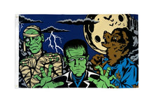 Load image into Gallery viewer, Fright Night Flag 3x5 Poly