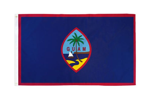 Guam 3x5ft Poly Flag