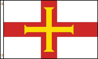 Guernsey 3x5ft Poly Flag