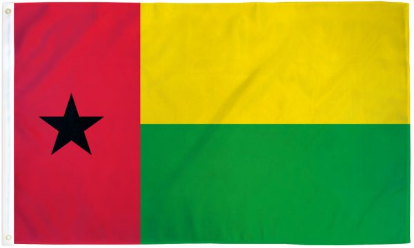 Guinea-Bissau 3x5ft Poly Flag