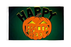 Happy Halloween Flag 3x5 Poly