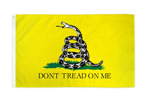 Gadsden Don't Tread on Me 3x5ft Poly Flag