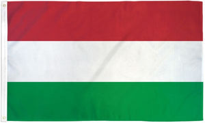 Hungary 3x5ft Poly Flag
