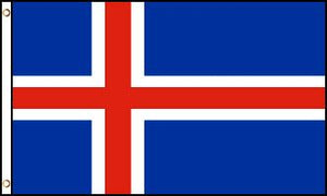 Iceland 3x5ft Poly Flag