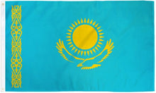Load image into Gallery viewer, Kazakhstan 3x5ft Poly Flag