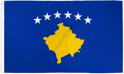 Kosovo 3x5ft Poly Flag