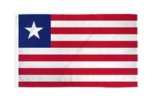 Load image into Gallery viewer, Liberia 3x5ft Poly Flag