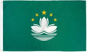 Macau 3x5ft Poly Flag