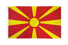 Load image into Gallery viewer, Macedonia 3x5ft Poly Flag