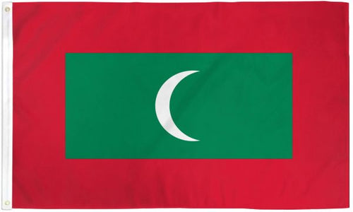 Maldives 3x5ft Poly Flag