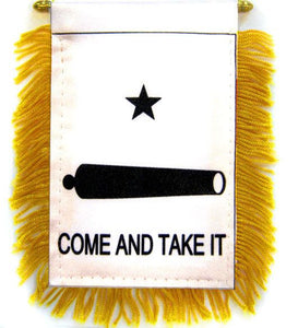 Come & Take It (Gonzales) Car Flag Mini Banner