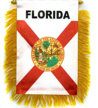 Load image into Gallery viewer, Florida Car Flag Mini Banner