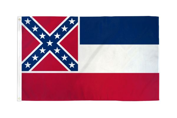Mississippi 3x5ft Poly Flag