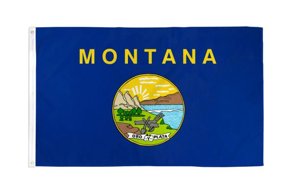 Montana 3x5ft Poly Flag