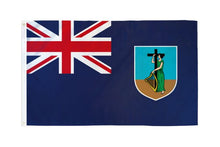 Load image into Gallery viewer, Montserrat 3x5ft Poly Flag