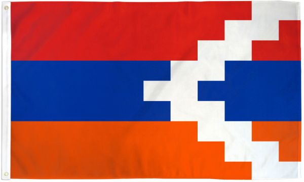 Nagorno Karabakh 3x5ft Poly Flag