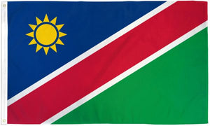 Namibia 3x5ft Poly Flag