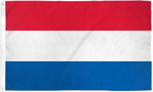Netherlands (Holland) 3x5ft Poly Flag