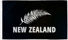 Load image into Gallery viewer, New Zealand (Silver Fern) 3x5ft Poly Flag
