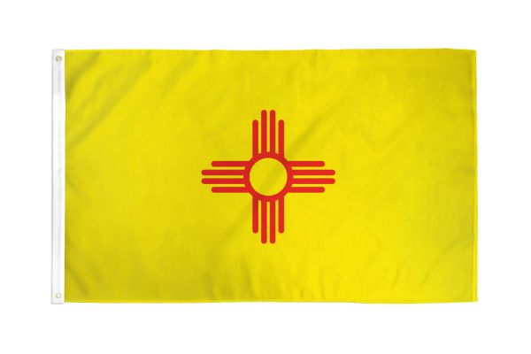New Mexico 3x5ft Poly Flag