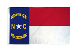 North Carolina 3x5ft Poly Flag