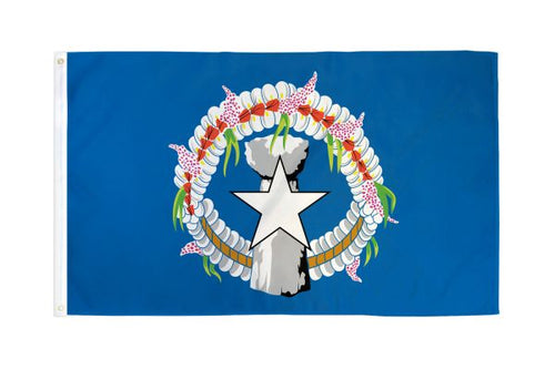 Northern Marianas 3x5ft Poly Flag