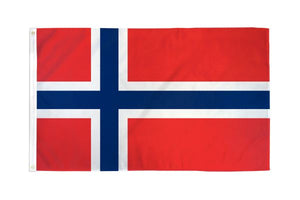 Norway 3x5ft Poly Flag