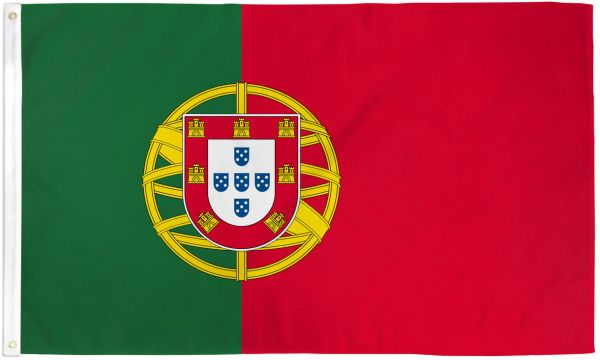 Portugal 3x5ft Poly Flag