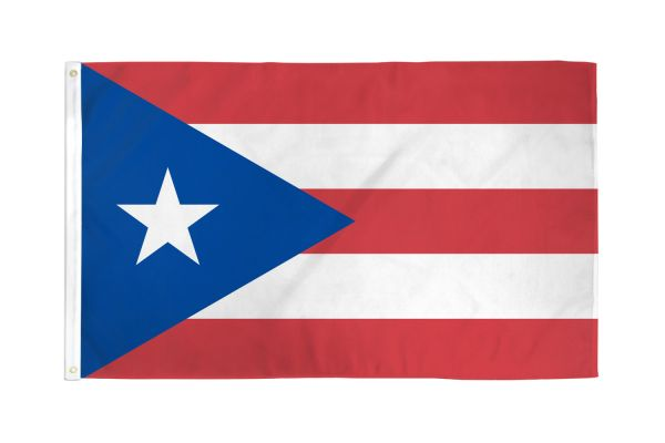 Puerto Rico 3x5ft Poly Flag