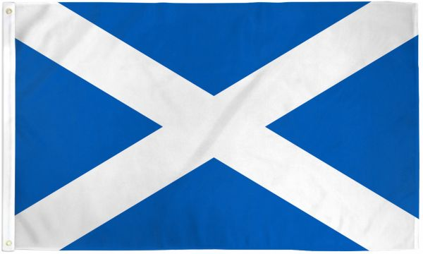 Scotland 3x5ft Poly Flag