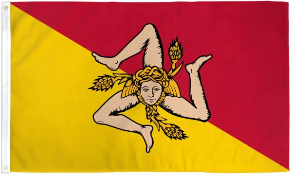 Sicily 3x5ft Poly Flag