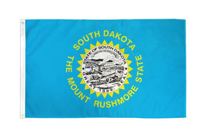 South Dakota 3x5ft Poly Flag