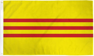 South Vietnam 3x5ft Poly Flag