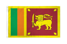 Load image into Gallery viewer, Sri Lanka 3x5ft Poly Flag