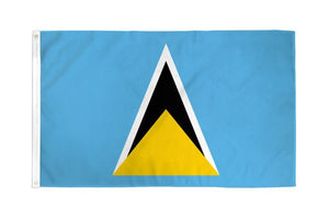St. Lucia 3x5ft Poly Flag