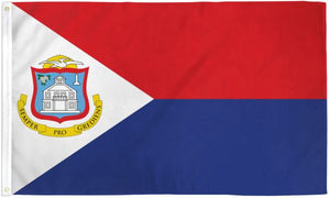St. Maarten 3x5ft Poly Flag