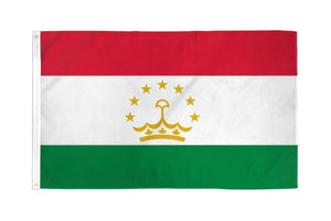 Tajikistan 3x5ft Poly Flag